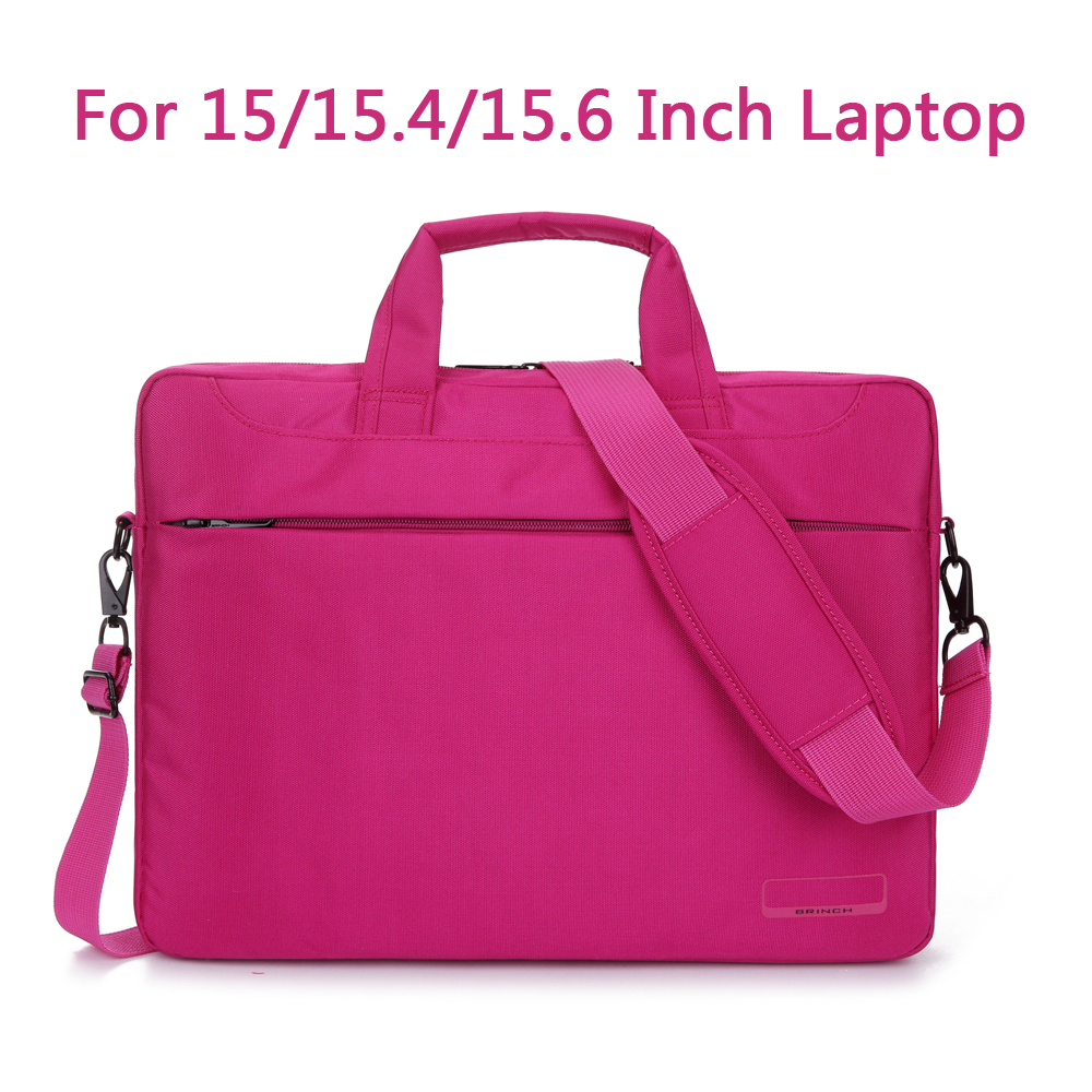 Laptop Shoulder Bag Protective Cover For Macbook Pro Air Reina hp sony dell 15.6 Inch Handbag pink Brwon Black Purple color<br><br>Aliexpress