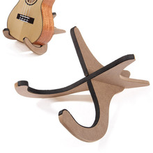 Wooden Collapsible Foldable Metal Stand for Ukulele Mandolin Violin Ukes Banjo Guitar Parts Accessories Holder Wooden