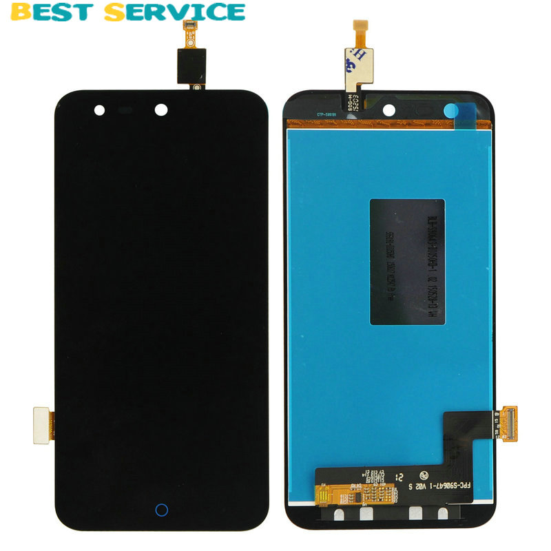 New For ZTE B880 LCD Display with Touch Screen Digitizer Assembly Black Free Shipping<br>