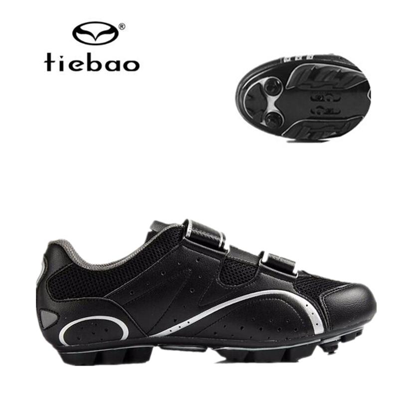 Tiebao bicycle Shoes men Mountain bike sapato feminino sapatilha ciclismo mtb women sneakers black street sports cycling shoes<br>