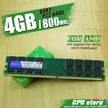 New 4GB DDR2 PC2-6400 800MHz For Desktop PC DIMM Memory RAM 240 pins For AMD System High Compatible