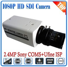 Free shipping 1080P HD SDI Bullet Camera With 2.8-12mm Lens WDR OSD 3D-DNR,2.43megapixels Sony COMS,2 years Warranty,CVBS output