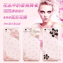 "Bling Crystal Diamond Sliver flower Back Case Cover For Apple iPhone 4 4S 4G 5 5S 5G 5C SE 6 6 Plus 5.5"" 7 7Plus phone case"