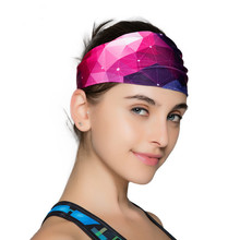2017 new fashion Free Shipping Wide Variety of plain hair band headband elastic headband sports yoga towel womens headbands(China)
