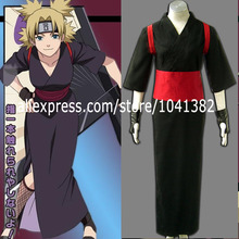 Naruto Shippuden Temari Kimono Anime Cosplay Costume Halloween Cos(China)