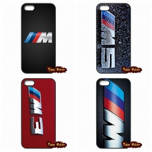 For silm BMW M Series M3 M5 logo Cover Case For Huawei Ascend P6 P7 P8 Lite Honor 3C Mate 8 Sony Xperia Z1 Z2 Z3 Z3 Z4 Z5