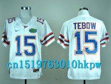 2017 Nike North Carolina Tar Heels Tim Tebow 15 College Nike Sweatshirts - White Color Size S,M,L,XL,2XL,3XL