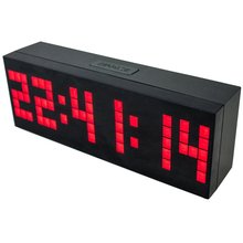 4 Colors LED Clock Digital Alarm Clock Wall Table Desktop New Design with Snooze Calendar Temperature Chiristmas gift present(China)