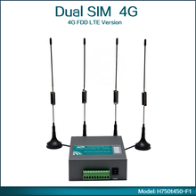 Portable Mini 4G 3G Wireless Router With Dual SIM Card Slot WiFi 802.11b/g/n Mobile For Bus ( Model: H750t450-F1 )(China)