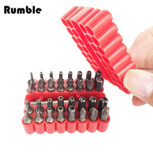 33 In 1 Hollow Phillips Torx Screwdriver Bits Suit Safety Screws Hex Screws Bits Professional Screwdriver Tool CRV Portable(China)