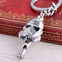 Movie Star Wars Darth Vader Stormtrooper Mask Alloy Keychain For Fans As Whistle Key Ring Holder Fashion Jewelry Dropshipping