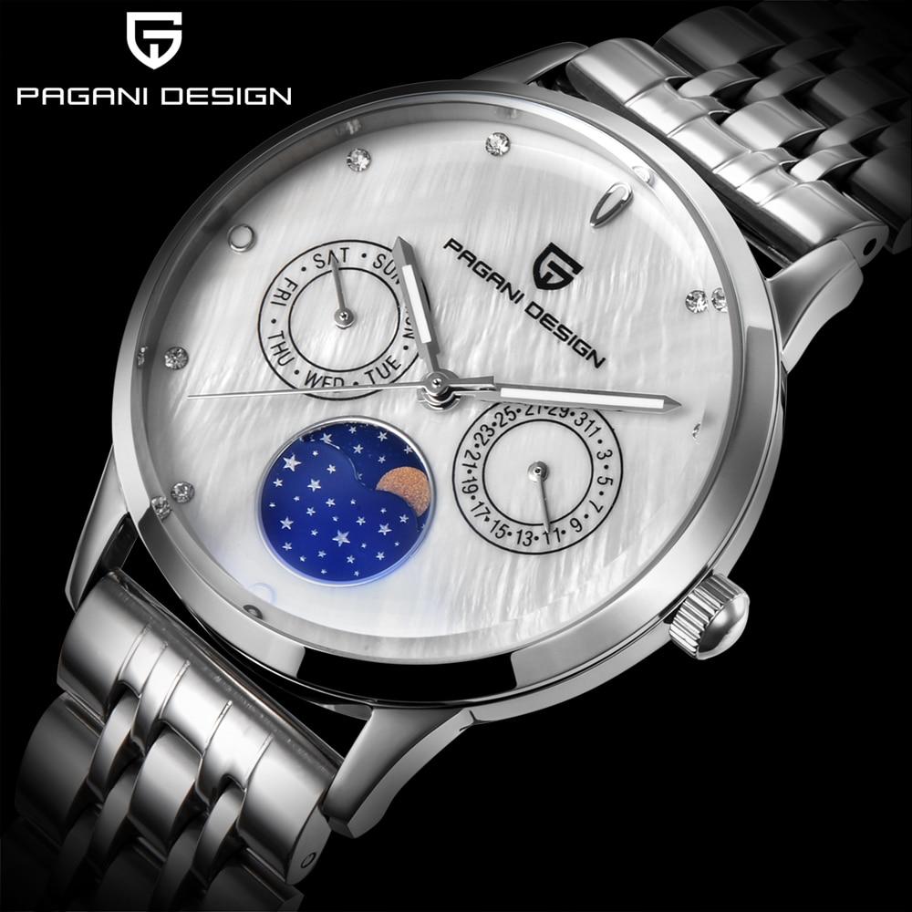 Pagani Design Fashion Women Watches Luxury Brand Full Steel Quartz Watch Female relogio feminino montre femme Ladies Clock <br>