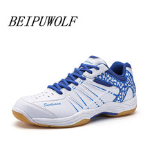 Trainers Men 2017 Brand Badminton Shoes Light Weight Table Tennis Shoes Outdoor Breathable Athletic Sport Sneakers for Male
