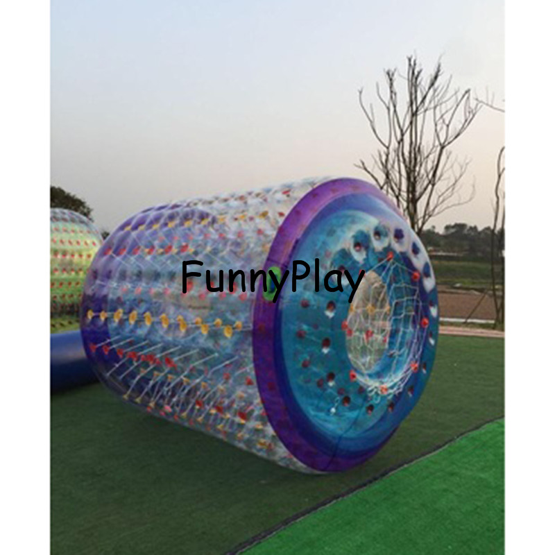 inflatable water rollering ball2