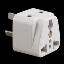Hot 3 pin Chinese Power Plug Adapter Travel Converter Australia UK USA EU Wholesale