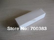 50 PCS The White Box 3.15 x 0.99 x 0.79 inch 80x25x20MM Electronic Product Packaging White Paper Gift Box Paper packaging