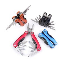 Mini Slim Multifunction Tool Pincers Multi-Use Combination Tool Pliers Portable Outdoor Folding Pliers
