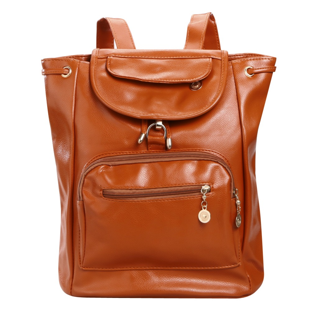 Mojoyce Brand Women Leather Backpacks 2017 New Design Pu School Bag Student Backpack Ladies Women Bags Leather Package Female<br><br>Aliexpress