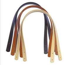Free shipping 20pcs=10pairs/lot PU leather bag handle. PU handbag handle/strap DIY bag accessories 55cm