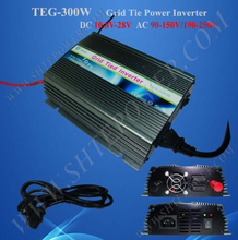 Home use electrical 24v on grid 300W solar inverter(China)