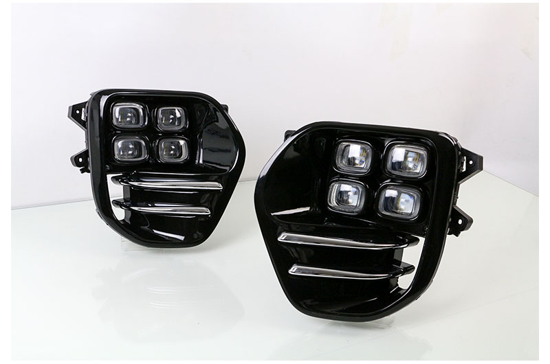 LED Daytime Running Lights DRL For KIA Sportage QL KX5 2016 2017 Car Driving Light Fog Lamp Hole Car-styling Auto Accessories (9)