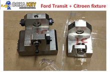 Original M3 For Ford Transit Key Clamp fixtures + Citroen fixture For IKEYCUTTER CONDOR Mini XC 007 auto Key Cutting Machine(China)