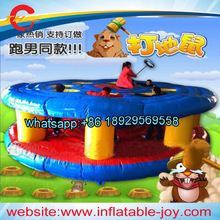 free sea shipping/CNF terms,sport game Whac-A-Mole adult inflatable jumping bouncer for party/inflatable jumper/bounce