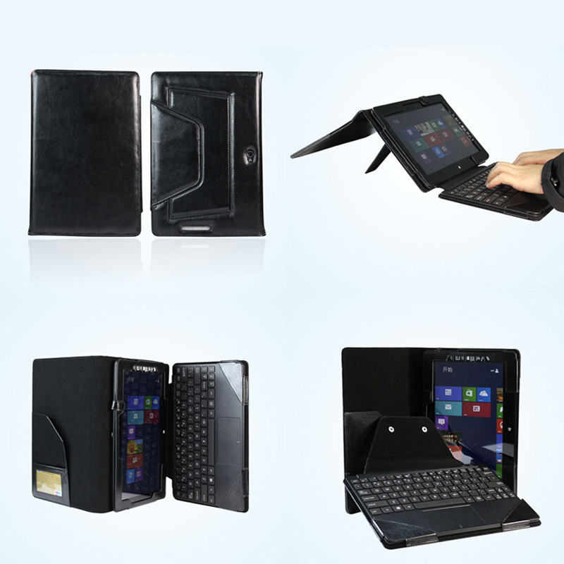 New Luxury 2in1 Leather Case With Detachable Keyboard Station Protective Cover For Asus VivoTab Smart ME400C Win8 10.1 Tablet<br><br>Aliexpress