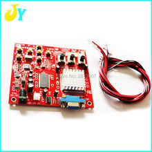 High Definition Red CGA to VGA CVBS Arcade Game Video Converter Board for CRT LCD PDP Monitor