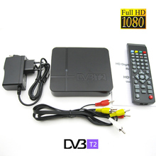 DVB T2 Terrestrial Receiver DVB-T DVB-T2 MPEG-2/-4 H.264 Support PVR/EPG Mini Set Top Box For RUSSIA/Europe/THAILAND/Columbia TV(China)