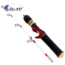 iLure 2017 ice fishing rod raft rod high-quality carbon fiber fishing rods winter carp fishing rods fishing tackle tools pesca(China)