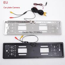 Rear Camera Parking Assistance Night vision EU Car License Camera New Style Car Number Plate Camera Black and Sliver Color 1PCS