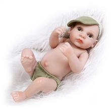 "Buy 9"" Realistic Reborn Dolls Babies Fashion Dolls Toys Children's Gift,Fashion Silicone Reborn Baby Dolls Brinquedos"