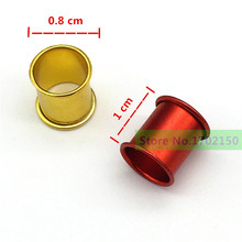 200 pcs Aluminum pigeon foot ring 0.8 * 1cm Bird ring Identification Race pigeons color ring Bird tools wholesale