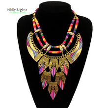 Buy Women vintage choker pendants&necklaces big boho necklaces ethnic bohemian jewelry statement tribal accessories bijoux femme for $8.29 in AliExpress store