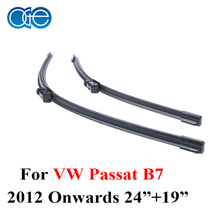 OGE Windscreen Wiper Blades For VW Passat B7, 2012 Onwards ,Fit Windshield Silicone Rubber Wipers Arm,Auto Car accessories