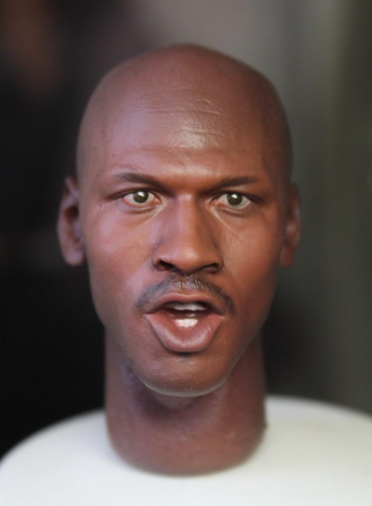 Brand New 1/6 Scale Head Sculpt NBA Michael Jeffrey Jordan Head Sculpt Accessories For 12 Action Figure Model Toy<br><br>Aliexpress