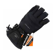 Free Shipping Professional head all-weather waterproof thermal skiing gloves for men Motorcycle winter waterproof sports outdoor(China)