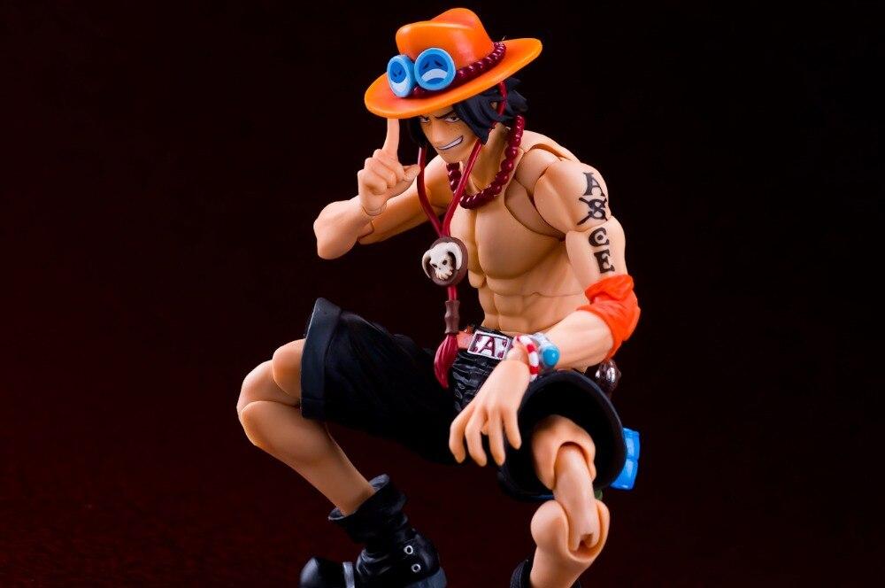VAH One Piece Heat Fist Ace PVC Action Figure<br>