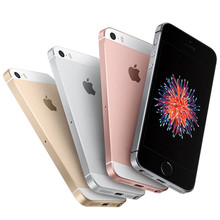 Original Unlocked Apple iPhone SE Dual Core Cell Phones 12MP iOS Fingerprint Touch ID Sealed Phone 2GB RAM 16/64GB ROM(China)