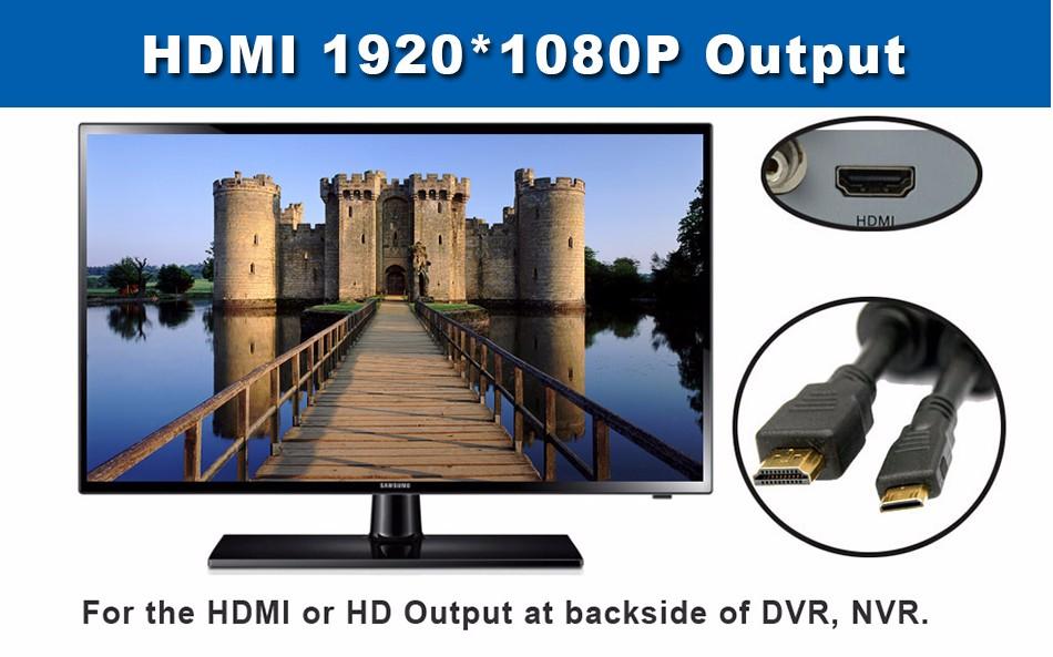 6-HDMI 19201080P Output