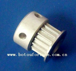 free shipping Aluminum 16T2.5 timing pulley,8pcsand 6mm width open belt,10meters<br>
