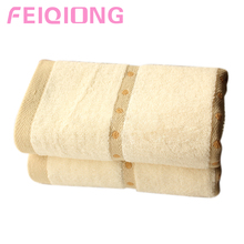 Brand new 34*75cm Cotton Soft Towels Bathroom Wash Cotton Towel Washcloth Face Fitness Towel HQ(China)