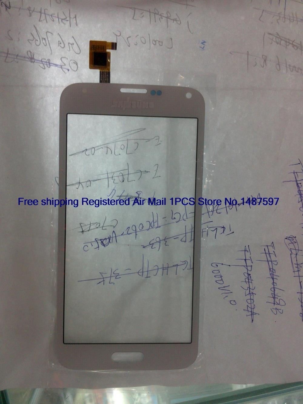 1PCS Free shipping Domestic imitation For Samsung S5 G900 touchscreen 6000V1.0 screen   external screen with touch screen 3 Star<br><br>Aliexpress