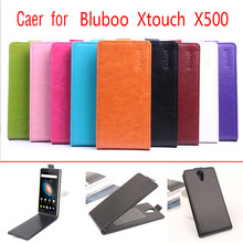 9 Colors Bluboo Xtouch X500 Case 100% Original Leather Cases Protector Cover For BLUBOO Xtouch X500 Smart Phone Bags Shell Skin