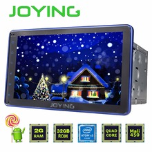 "JOYING 2GB+32GB Android 5.1 Universal Double 2 DIN 8"" Car Radio Stereo Quad Core Head Unit Support PIP OBD DVR Blue Panel"