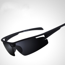 Buy Men Women Cycling Glasses Black Polarized Sun Glasses Eyewear UV400 Bike Motorcycle Sunglasses Outdoor Sports Hiking Ciclismo for $4.99 in AliExpress store