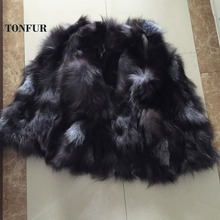 2017 New Women Real Natural Genuine Fox Fur Vest for Lady Jacket Free Shipping custom big size  HP0397B