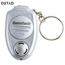 OUTAD Portable Electronic Ultrasonic Mosquitoes Pest Mouse Killer Magnetic Repeller Outdoor Mini Keychain key clip Repeller(China)