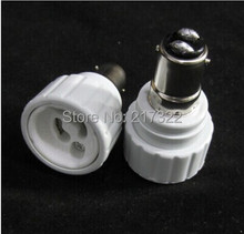 BA15D TO GU10 adapter Conversion socket High quality material fireproof material B15 TO GU10 socket adapter Lamp holder